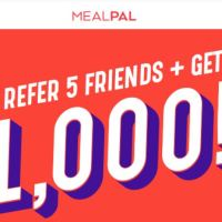 Whoa! MealPal offering $1000 to members that refer 5 friends (UPDATE)