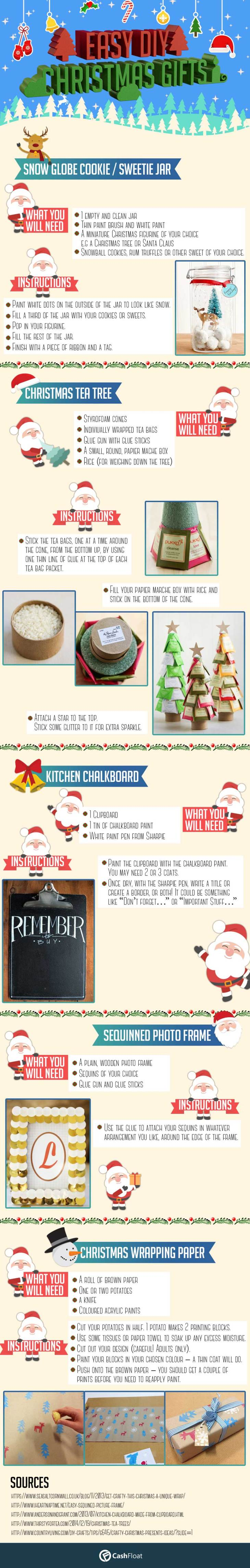 Amazing Christmas gifts you can do yourself