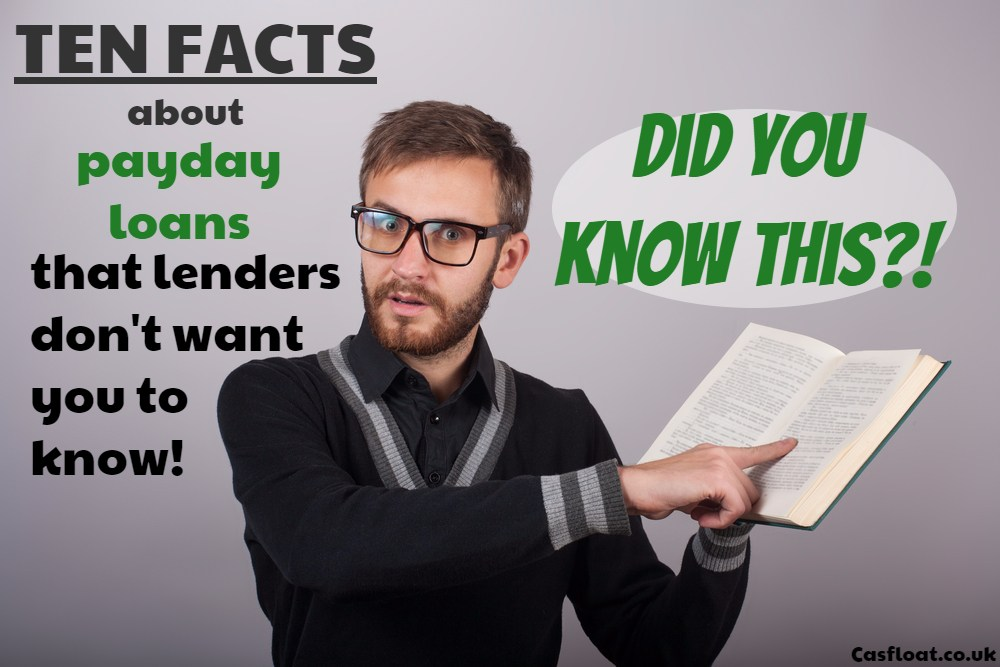Important Payday Loan Facts Lenders Dont Want You To Know