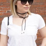 How to Style a Bow Choker