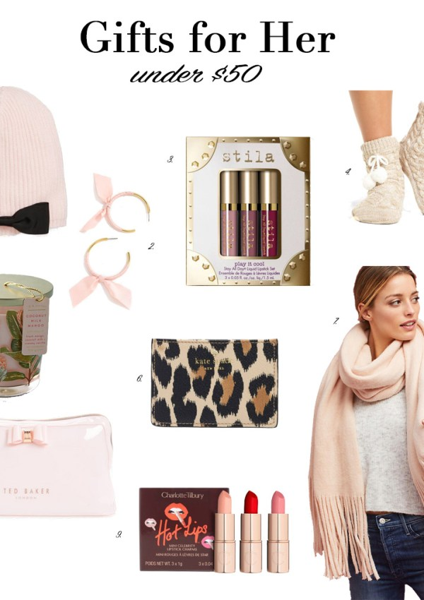 Gifts for Her Under $50 + Cyber Monday Deals
