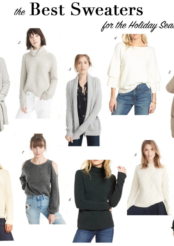 The Best Sweaters for the Holiday Season