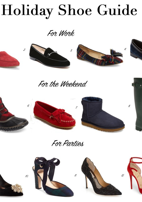 Holiday Shoe Guide