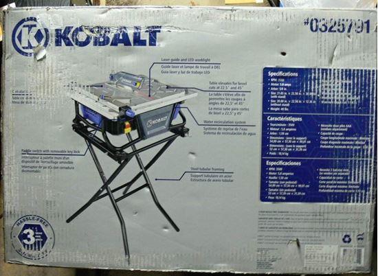 kobalt tile saw water tray replacement