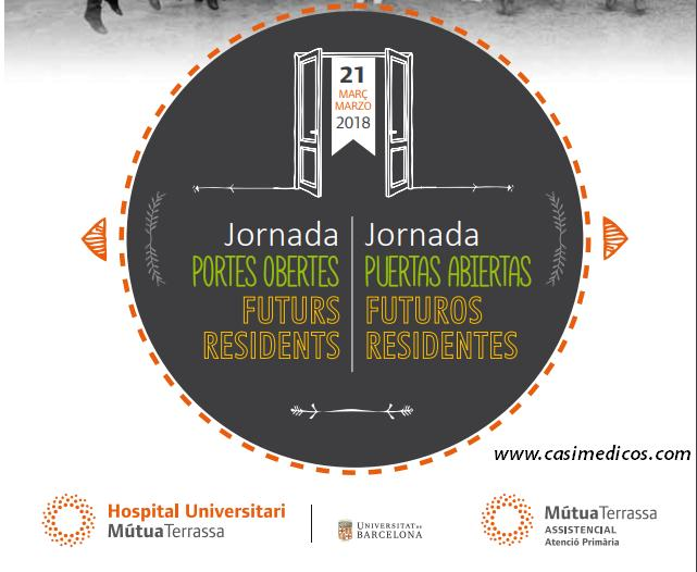 JORNADA PUERTAS ABIERTAS Futuros Residentes Hospital Universitari Mútua Terrassa 2018 @ Edifici Docent Mútua Terrassa | Terrassa | Catalunya | Spain