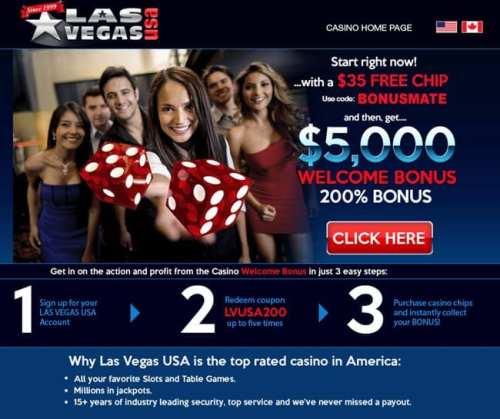 vegas casino bonus - 2