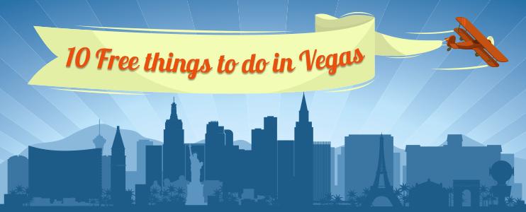 Free stuff to do in Vegas header