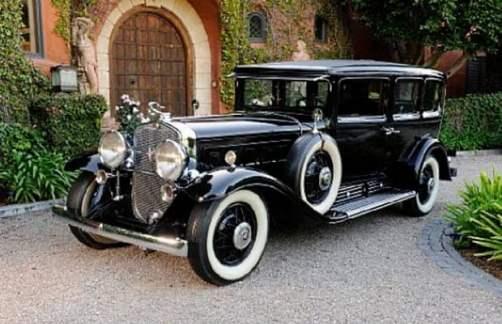 1930 Cadillac 452 V16 Armored Imperial Sedan Al Capone