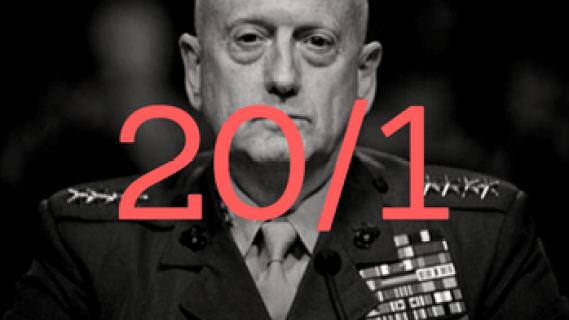 James mattis with firing odds over him