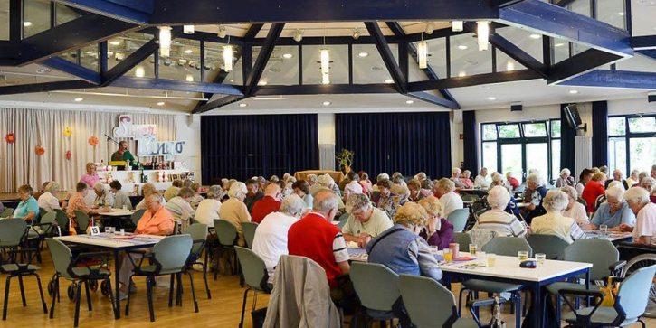 An OAP Bingo hall