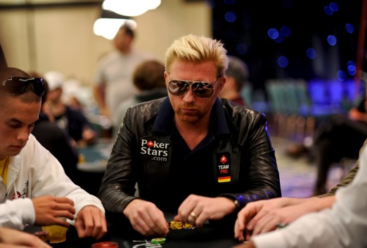 Team PokerStars Pro Boris Becker represented at the World Series of Poker this month.