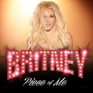 offical poster for britney spears' vegas show piece of me