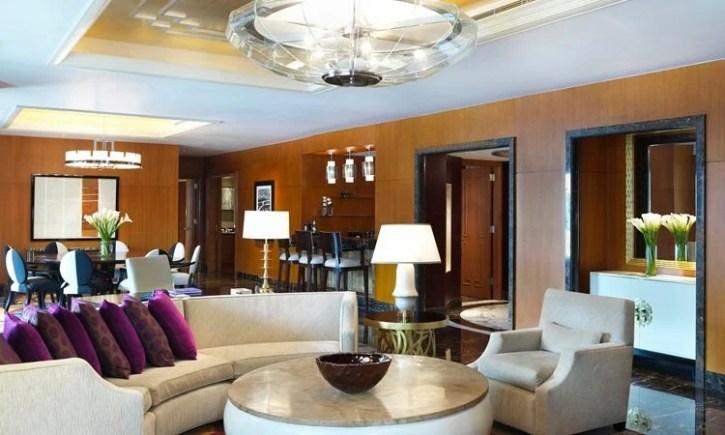 The Presidential Suite at the Conrad Hilton in Macau
