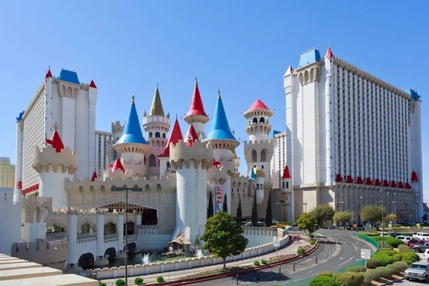 An image of the famous Excalibur Hotel and Casino, based in Las Vegas