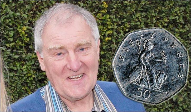 Fred Craggs, winner of £1m from a 50p stake