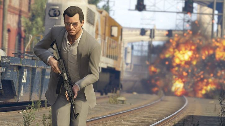 The main character from the story mode in Grand Theft Auto V.
