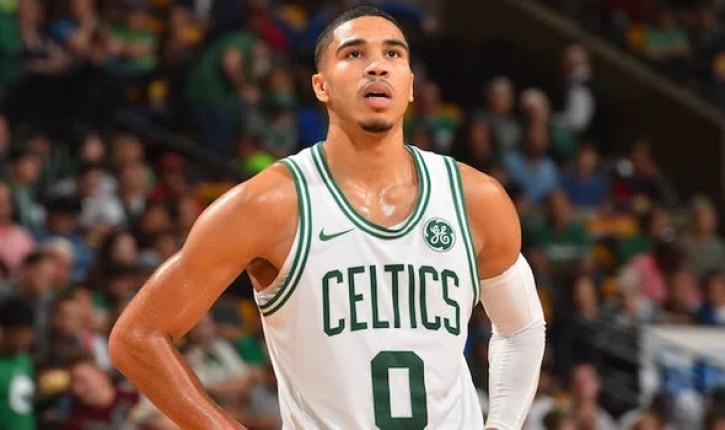Jayson Tatum, small/point forward for the Boston Celtics