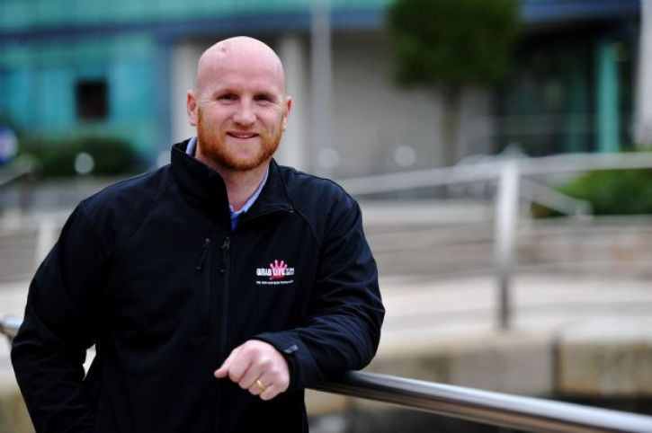 John Hartson, a famous footballer who recovered from a gambling problem