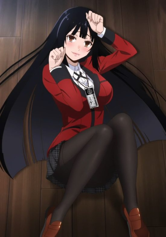 The main character from Kakegurui