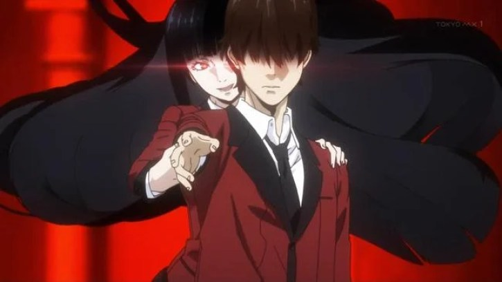 Characters from Kakegurui
