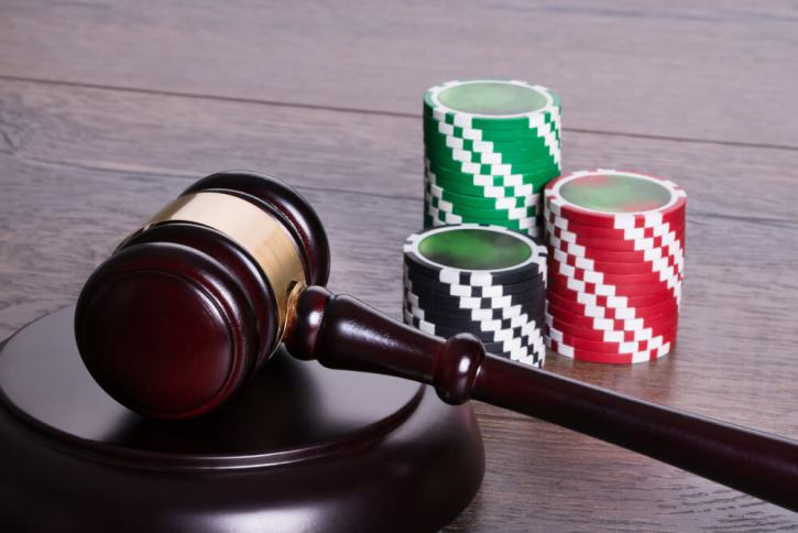 An image of a gavel, representing the refomed legal regulations of online gambling