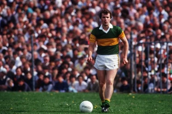 An image of Mikey Sheehy, a legend in Gaelic Football