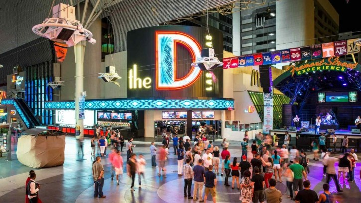 A photo from inside the D Hotel & Casino