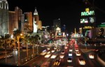 Las Vegas night-time Strip