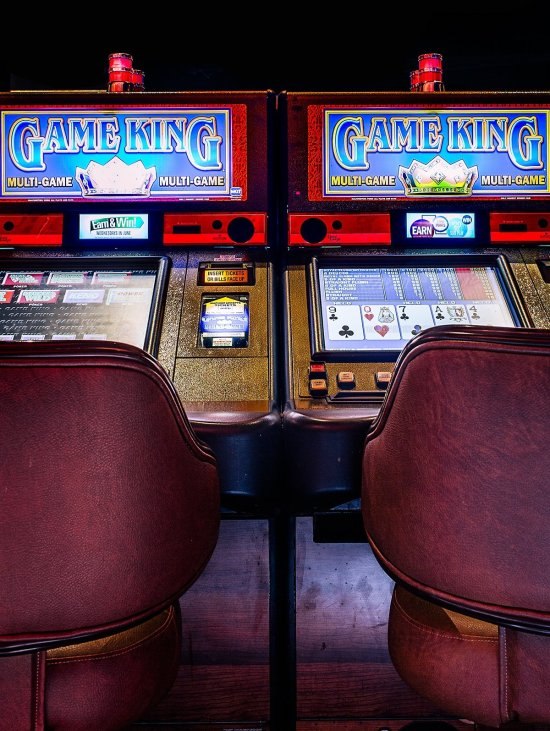 Land-based casino video poker machines