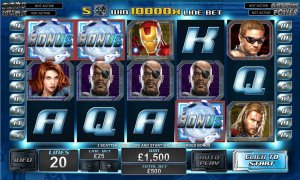 The Avengers Slot game