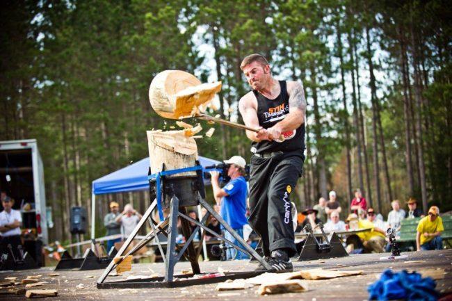 event in the world lumberjack championship