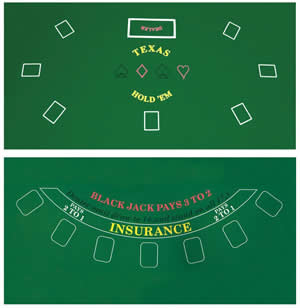 Poker & Blackjack Felt