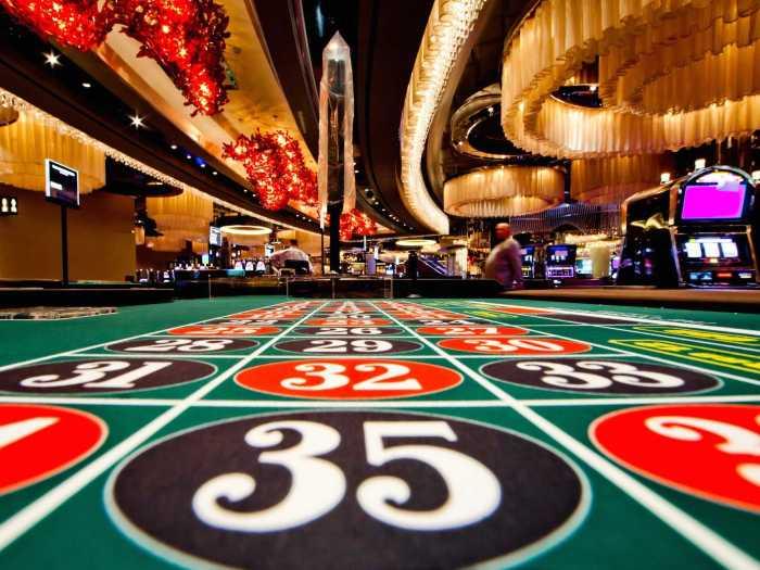 A scene at a casino