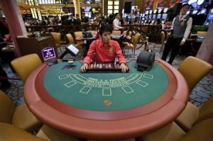 A Casino Card Table. (Image credit: Reuters.com)