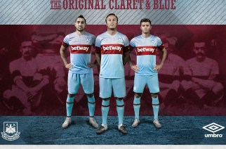 West Ham is just one of the many football clubs to have a gambling service as a shirt sponsor. (Source: footballfashion.org)