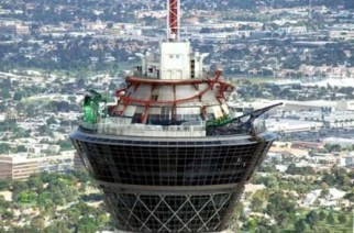 """Stratosphere Las Vegas"" (Image Credit:1000lonelyplaces.com)"
