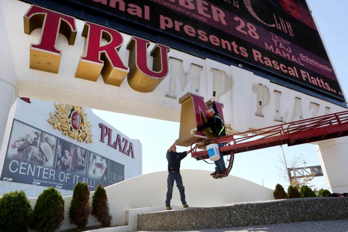 Trump Plaza Set for Demolition in Atlantic City, Liquidation Underway