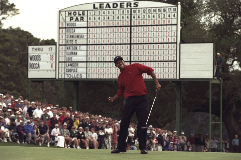 Masters odds Tiger Woods Augusta