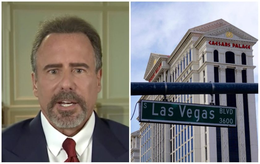 Caesars Entertainment stock Mark Frissora