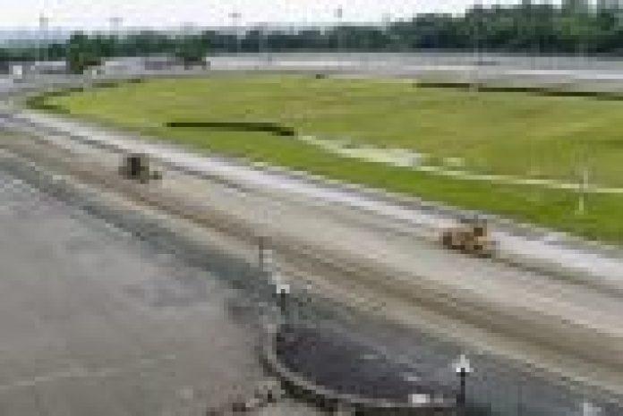 Yonkers track renovation