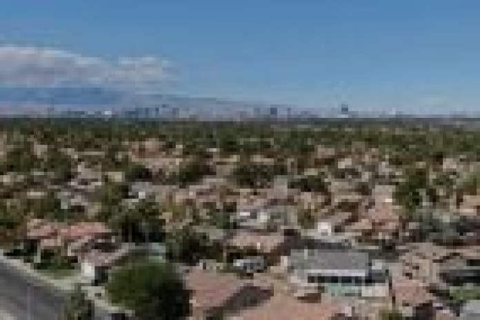 Las Vegas population Nevada Clark County