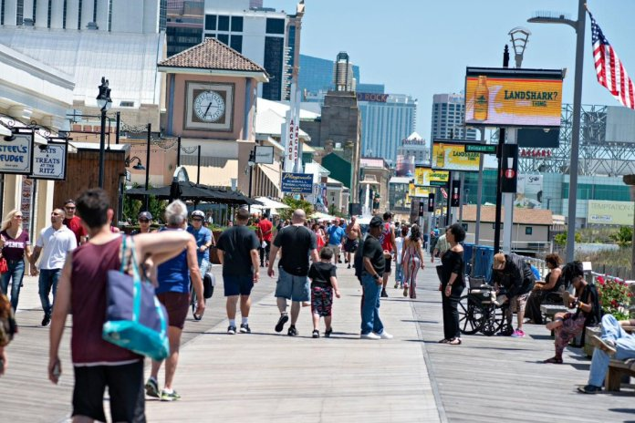 Atlantic City casino revenue GGR
