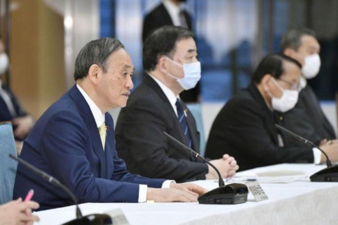 Japan integrated resort casino law Suga