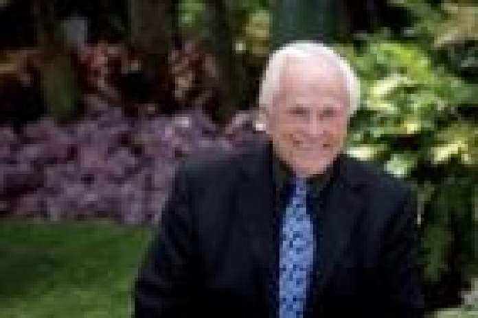 Las Vegas landscape architect Don Brinkerhoff