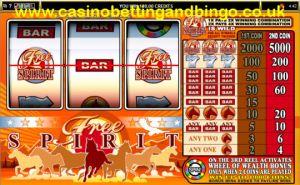 Free Spirit Wheel of Wealth Slot Machine Game