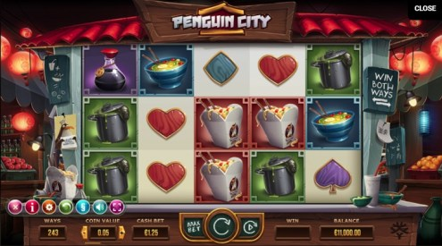 Penguin City slot game review