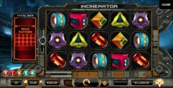 Incinerator slot game review