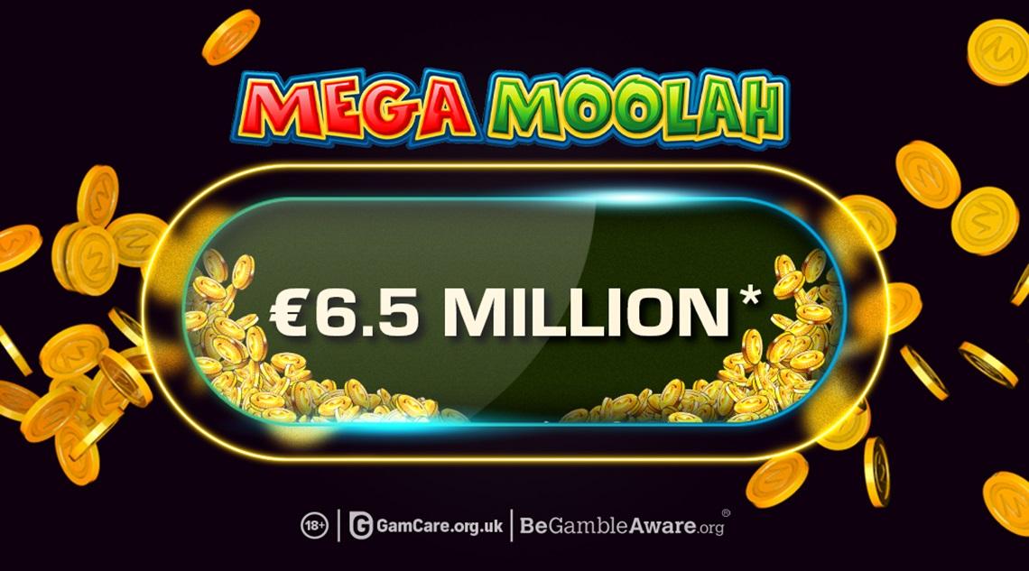 Microgaming's Mega Moolah jackpot hit for a mighty €6.5 million