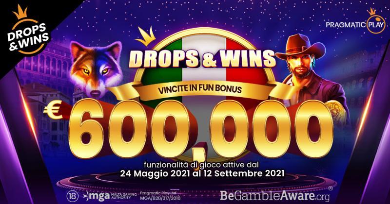 PRAGMATIC PLAY LAUNCHED DROPS & WINS BONUS REWARDS IN ITALY