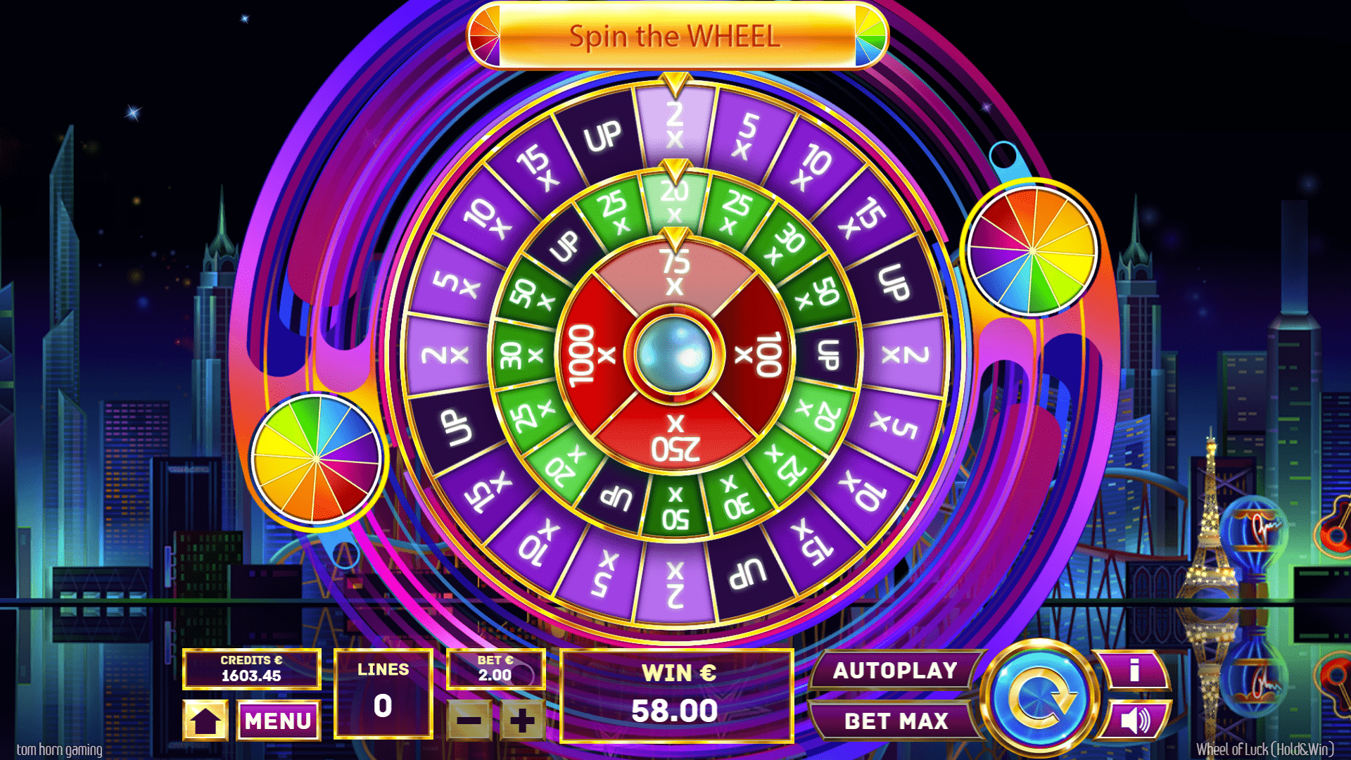 Wheel of Luck by Tom Horn Gaming